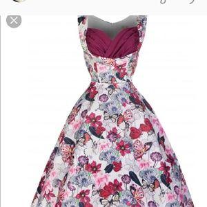 LINDY BOP FLORAL DRESS 6X